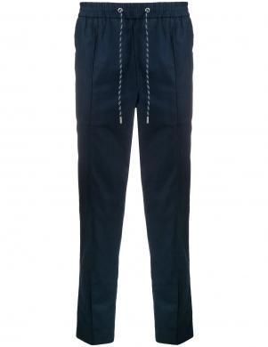 MICHAEL KORS vīriešu tumši zilas bikses ar elastīgu vidukli