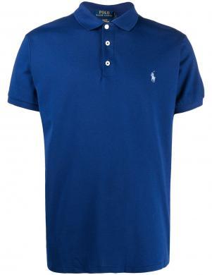 POLO RALPH LAUREN vīriešu zils polo tipa krekls