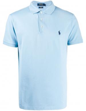 POLO RALPH LAUREN vīriešu gaiši zils polo tipa krekls