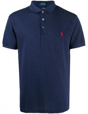 POLO RALPH LAUREN vīriešu tumši zils polo tipa krekls