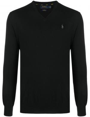 POLO RALPH LAUREN vīriešu melns džemperis