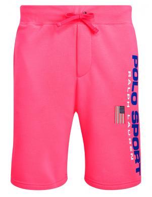 POLO RALPH LAUREN vīriešu rozā sporta stila šorti