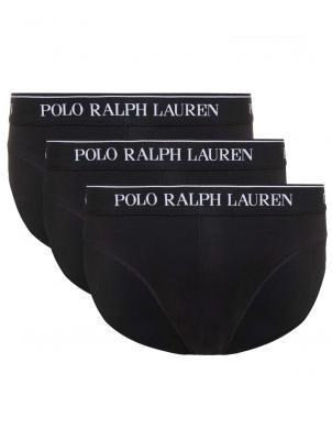 POLO RALPH LAUREN vīriešu melnas apakšbikses, 3 gab.