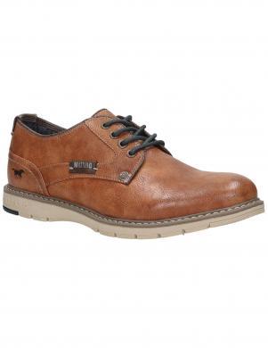 MUSTANG vīriešu brūni klasiski apavi