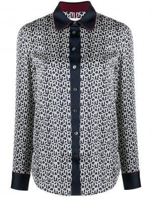 TOMMY HILFIGER sieviešu krāsains krekls ar garām piedurknēm