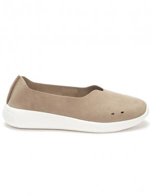 GRUNBERG sieviešu smilšu krāsas ikdienas apavi