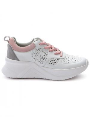 GRUNBERG sieviešu balti ikdienas apavi