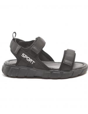 CROSBY bērnu melnas sandales