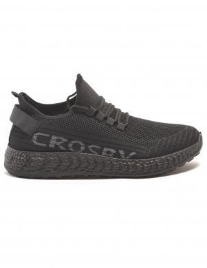 CROSBY bērnu melni ikdienas apavi