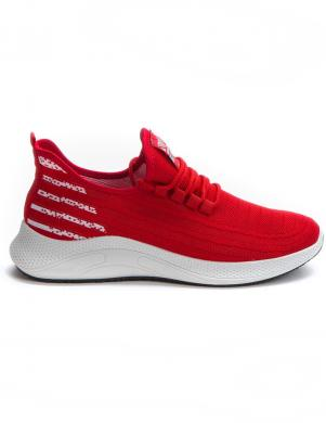 CROSBY vīriešu sarkani ikdienas apavi