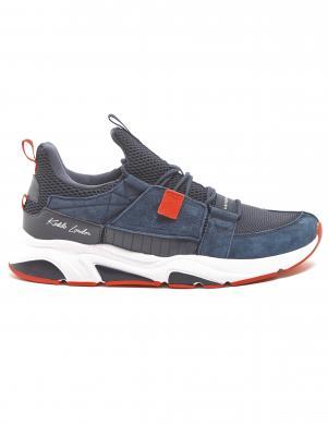 KEDDO vīriešu tumši zili ikdienas apavi