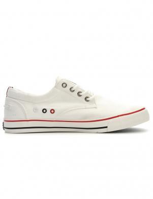 KEDDO DENIM vīriešu balti ikdienas apavi