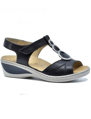 ARA sieviešu zilas ādas sandales COLMAR-ANG