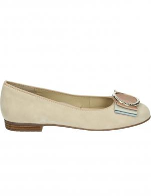 ARA sieviešu smilšu krāsas ādas balerīnas apavi SARDINIA-HIGHSOFT