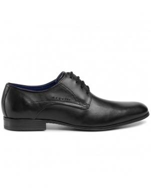 BUGATTI vīriešu melni klasiski apavi Mattia II