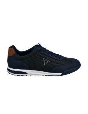 BUGATTI vīriešu tumši zili ikdienas apavi Trevor