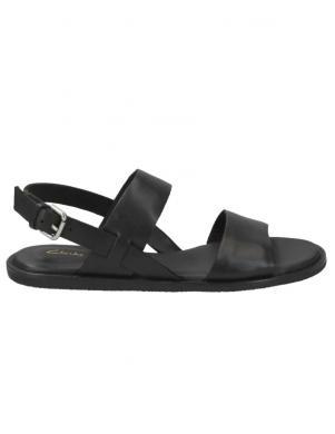 CLARKS sieviešu melnas sandales Karsea Strap
