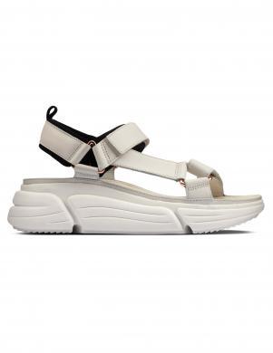 CLARKS sieviešu baltas sandales TriComet Go