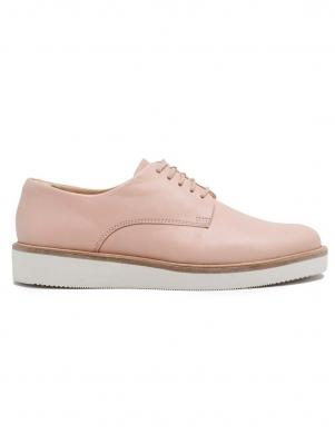 CLARKS sieviešu rozā ikdienas apavi Baille Stitch