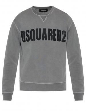DSQUARED2 vīriešu pelēks džemperis