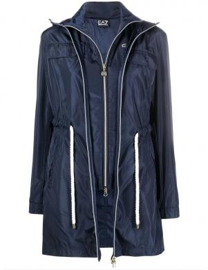 EA7 sieviešu tumši zila jaka ar vesti