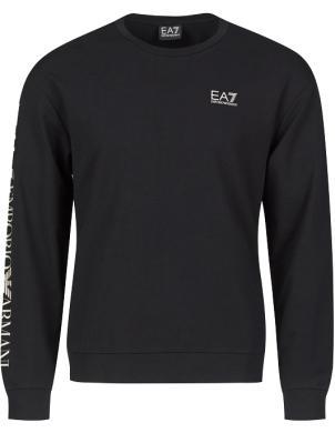 EA7 vīriešu melns džemperis