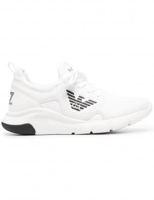 EA7 vīriešu balti ikdienas apavi