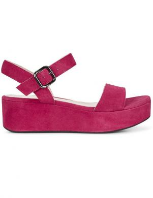 ECCO sieviešu rozā sandales ar biezu zoli