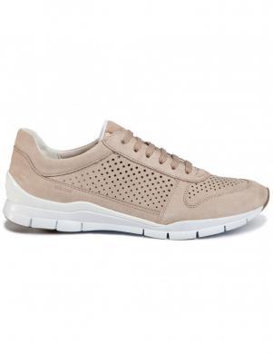 GEOX sieviešu krēmīgas krāsas ikdienas apavi SUKIE