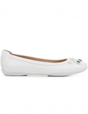 GEOX sieviešu balti balerīnas apavi CHARLENE