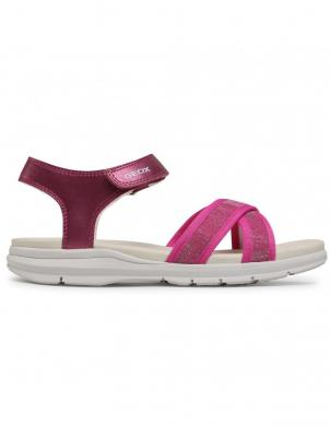 GEOX bērnu rozā sandales SANDAL SUKIE GIRL