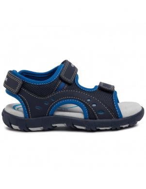 GEOX bērnu zilas sandales SANDAL PIANETA