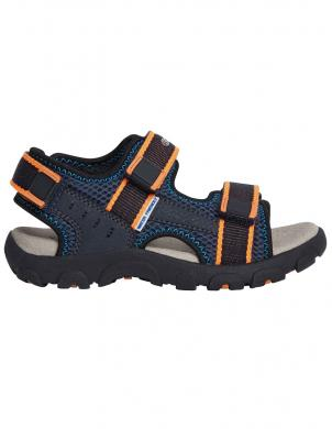 GEOX bērnu tumši zilas sandales JR SANDAL STRADA