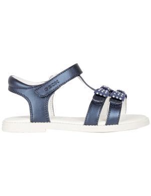 GEOX bērnu zilas sandales SANDAL KARLY GIRL