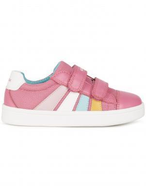 GEOX bērnu rozā ikdienas apavi meitenēm DJROCK GIRL