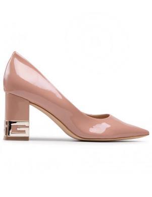 GUESS sieviešu krēmīgas krāsas augstpapēžu apavi ZADER2