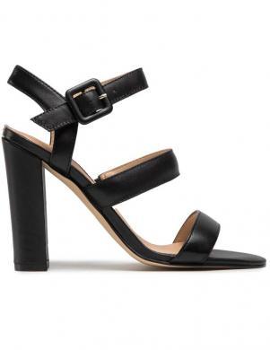 GUESS sieviešu melnas augstpapēžu sandales MELODIE