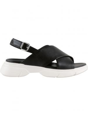 HOGL sieviešu melnas sandales VITALITY