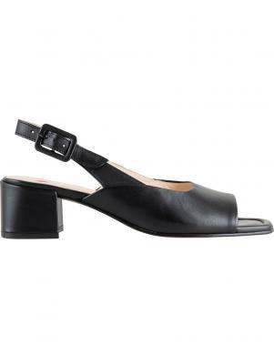 HOGL sieviešu melnas sandales LUISA