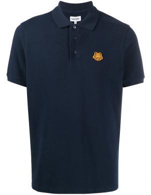 KENZO vīriešu tumši zils Polo tipa krekls