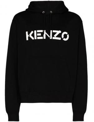 KENZO vīriešu melns džemperis ar kapuci