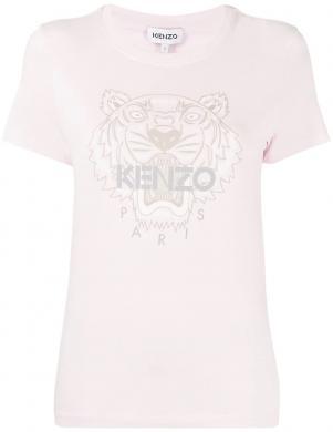 KENZO sieviešu gaiši rozā krekls ar īsām piedurknēm