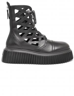 AGL sieviešu melni apavi - zābaki VIGGY