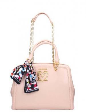 LOVE MOSCHINO sieviešu rozā soma