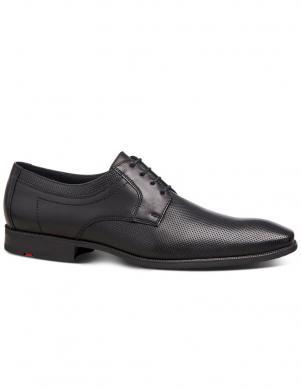 LLOYD vīriešu melni ādas klasiski apavi LABELL