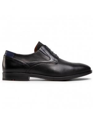 LLOYD vīriešu melni ādas klasiski apavi KELSAN