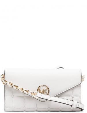 MICHAEL KORS sieviešu balta soma pār plecu