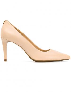 MICHAEL KORS sieviešu krēmīgas krāsas ādas augstpapēžu apavi DOROTHY FLEX