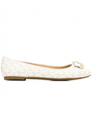 MICHAEL KORS sieviešu balti balerīnas apavi ALICE BALLET