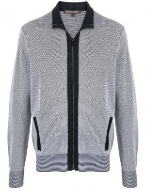 MICHAEL KORS vīriešu zils džemperis ar uzrakstu